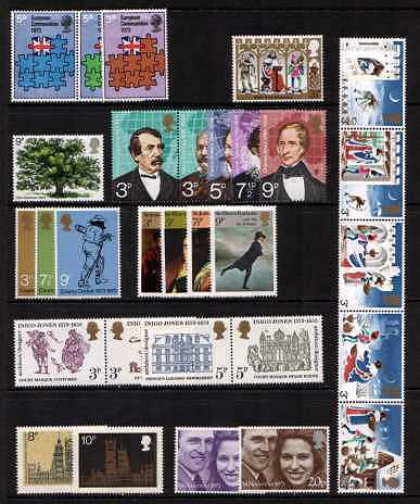 view larger image for Commemorative Year Sets -  (1973) - <BR/>