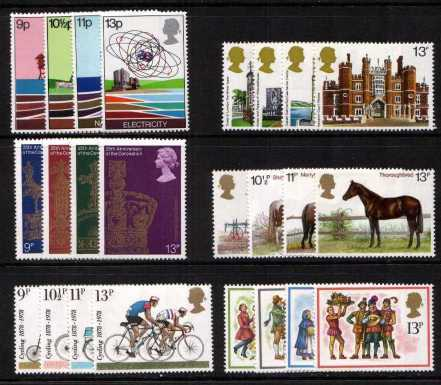 view larger image for Commemorative Year Sets -  (1978) - <BR/>