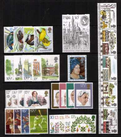 view larger image for Commemorative Year Sets -  (1980) - <BR/>