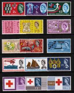 view larger image for Commemorative Year Sets -  (1962-1963) - <BR/>