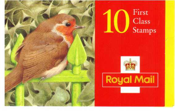 British Stamps Christmas Booklets Item: view larger image for SG LX9 (1995) - �2.50 - Containing ten 25p (SG1897)