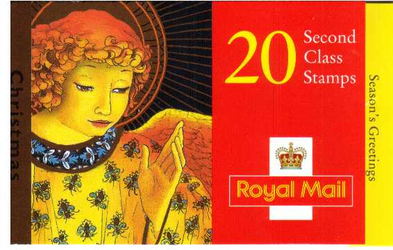 British Stamps Christmas Booklets Item: view larger image for SG LX16 (1998) - �4.00 - Containing twenty 20p  stamps (SG2064)