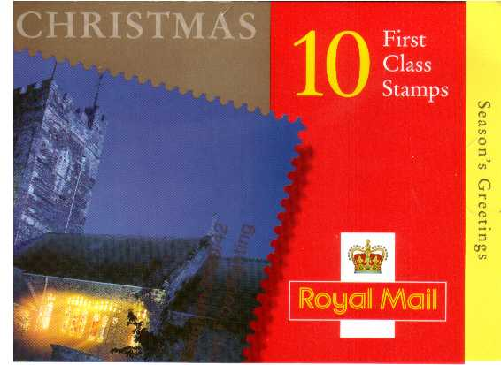 British Stamps Christmas Booklets Item: view larger image for SG LX19 (2000) - �2.70 - Containing ten 1st Class stamps (SG2171)