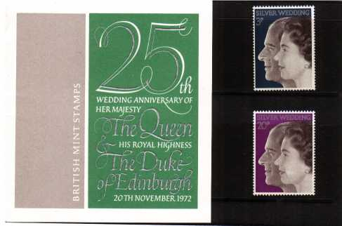 Stamp Image: view larger back view image for Royal Silver Wedding<br/><br/>