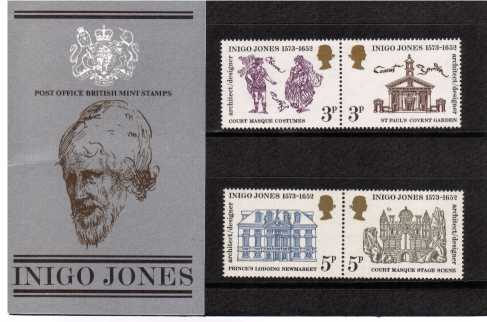 Stamp Image: view larger back view image for Inigo Jones<br/><br/>