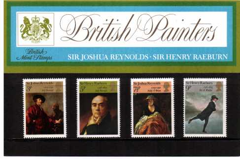Stamp Image: view larger back view image for British Paintings<br/><br/>