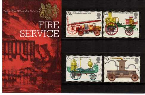 Stamp Image: view larger back view image for Fire Prevention<br/><br/>