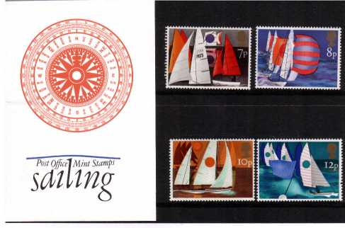 Stamp Image: view larger back view image for Sailing<br/><br/>