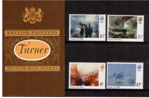 Stamp Image: view larger back view image for British Painters - Turner<br/><br/>