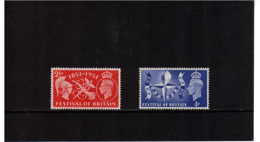 view larger image for SG 513-514 (1951) - Festival of Britain set of two