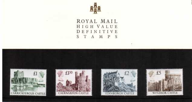 Stamp Image: view larger back view image for Castle High Vales �1-�5<br/><br/>