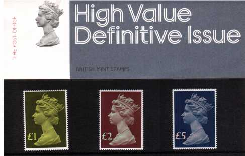 Stamp Image: view larger back view image for MACHIN HIGH VALUES �1-�5
