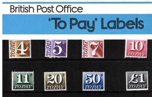 Stamp Image: view larger back view image for POSTAGE DUES<br/><br/>