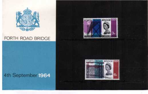 Stamp Image: view larger back view image for Forth Road Bridge - not the forgery! Superb condition.