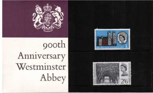 Stamp Image: view larger back view image for Westminster Abbey