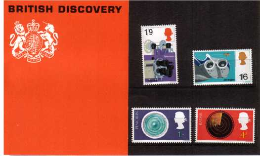 Stamp Image: view larger back view image for British Discoveries
