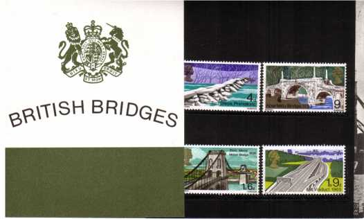 Stamp Image: view larger back view image for British Bridges