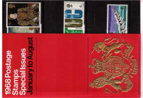view larger image for SG CP774c (1968) - Gift Pack in Red<br/>SG Cat �6.00