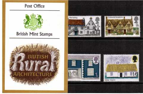Stamp Image: view larger back view image for British Rural Architecture