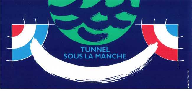Stamp Image: view larger back view image for Channel Tunnel GB/French Pack - scarce!