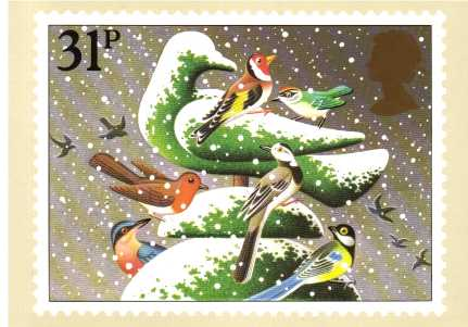 view larger image for PHQ No.71 (1983) - Christmas<br/>Set of five
