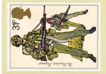 view larger image for PHQ No.68 (1983) - British Army<br/>Set of five