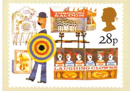 view larger image for PHQ No.70 (1983) - British Fairs<br/>Set of four