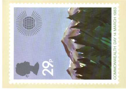 view larger image for PHQ No.66 (1983) - Commonwealth Day<br/>Set of four