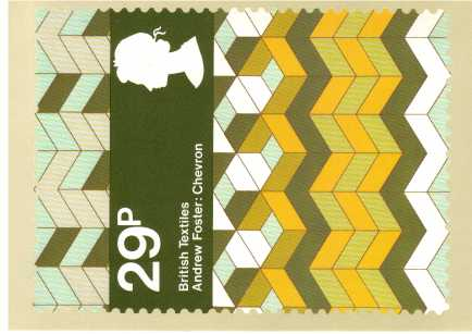 view larger image for PHQ No.61 (1982) - British Textiles<br/>Set of four
