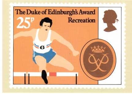 view larger image for PHQ No.54 (1981) - Duke of Edinburgh Awards<br/>Set of four