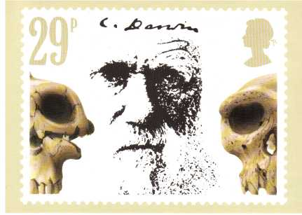 view larger image for PHQ No.57 (1982) - Charles Darwin<br/>Set of four