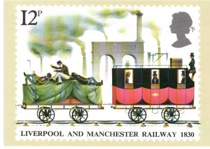 view larger image for PHQ No.42 (1980) - Railways<br/>Set of five