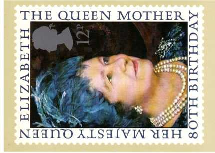 view larger image for PHQ No.45 (1980) - Queen Mother<br/>Single