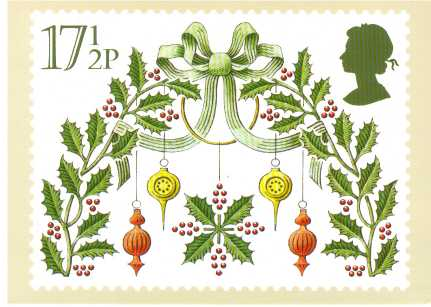 view larger image for PHQ No.48 (1980) - Christmas<br/>Set of five