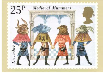 view larger image for PHQ No.49 (1981) - EUROPA - Folklore<br/>Set of four