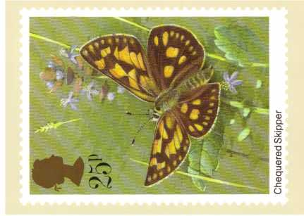 view larger image for PHQ No.51 (1981) - British Butterflies<br/>Set of four