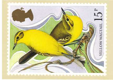 view larger image for PHQ No.41 (1980) - British Birds<br/>Set of four