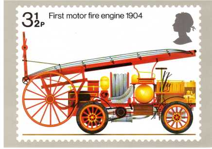 view larger image for PHQ No.6 (1974) - Fire Engine<br/>Single card complete set of one