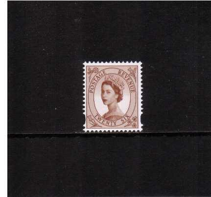 view larger image for SG 2032 (10 Mar 1998) - 26p Red-Brown - 2 Bands