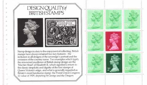 view larger image for SG X849p (19 May 1982) - from: DX 3 - 'Story of Stanley Gibbons' - 2p, 3p, 7x12�p
