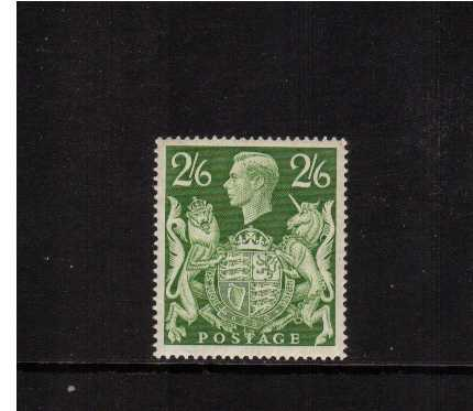 view larger image for SG 476a (1939) - 2/6d Green