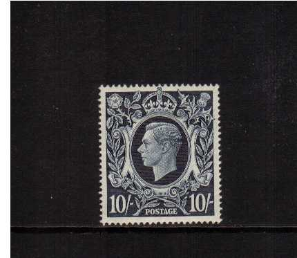 view larger image for SG 478 (1939) - 10/- Dark Blue