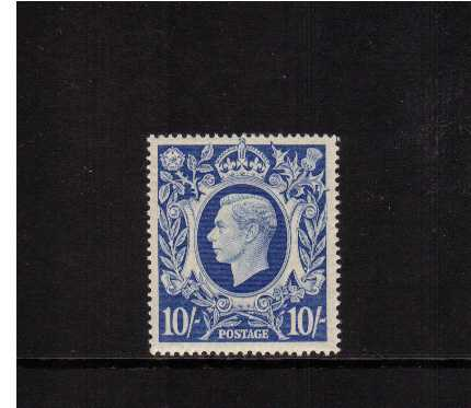 view larger image for SG 478b (1939) - 10/- Ultramarine