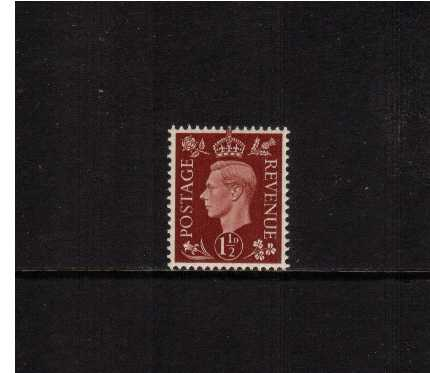 view larger image for SG 464 (1937) - 1�d Red-Brown