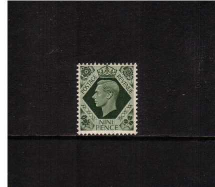 view larger image for SG 473 (1937) - 9d Deep Olive-Green