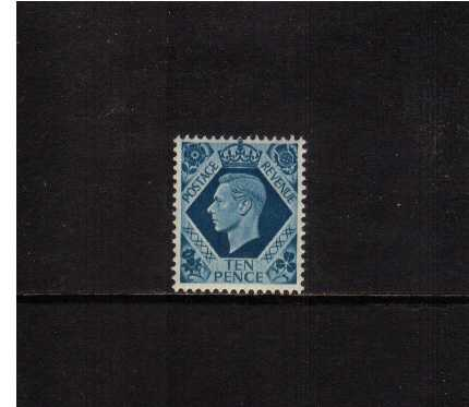 view larger image for SG 474 (1937) - 10d Turquoise-Blue
