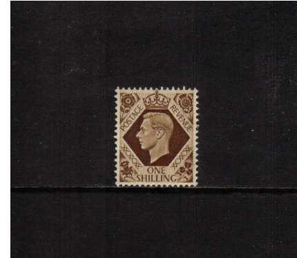 view larger image for SG 475 (1937) - 1/- Bistre-Brown