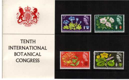 Stamp Image: view larger back view image for Botanical Congress