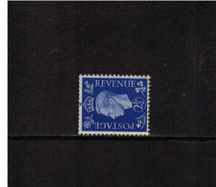 view larger image for SG 466a (1937) - 2�d Ultramarine with WATERMARK SIDEWAYS