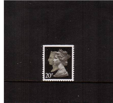 view larger image for SG 1476 (30 Jan 1990) - 20p Brownish Black & Cream - Walsall - Lithography<br/>Perforation 14 - Phosphorised Paper<br/>Imperforate at Top